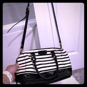 Kate Spade Striped Crossbody Purse